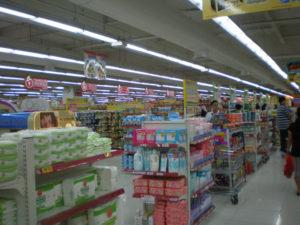 マニラのスーパーマーケットにて